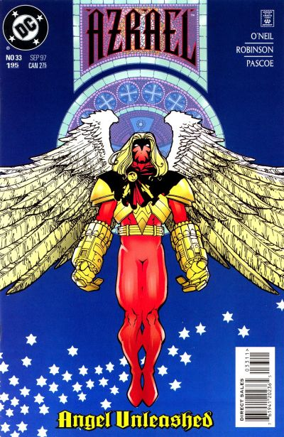 Cover for Azrael (DC, 1995 series) #33