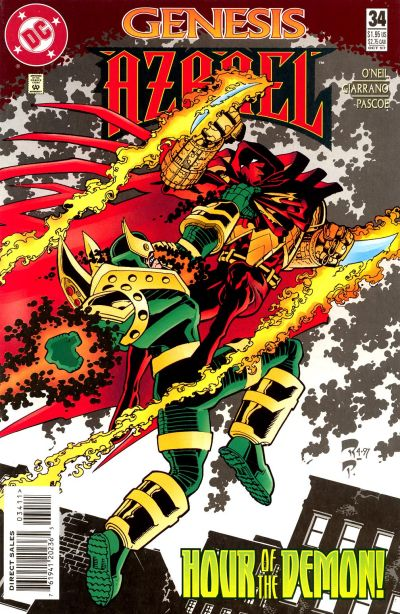 Cover for Azrael (DC, 1995 series) #34