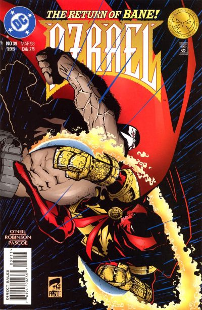 Cover for Azrael (DC, 1995 series) #39
