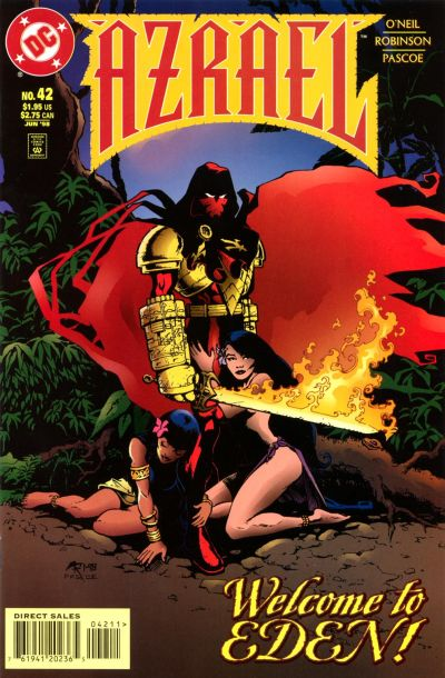 Cover for Azrael (DC, 1995 series) #42