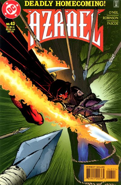 Cover for Azrael (DC, 1995 series) #43