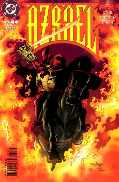 Cover for Azrael (DC, 1995 series) #44