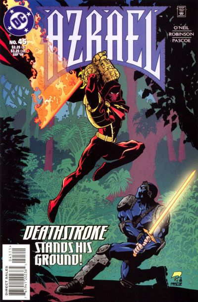 Cover for Azrael (DC, 1995 series) #45