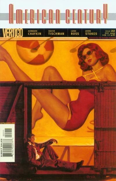 Cover for American Century (DC, 2001 series) #22