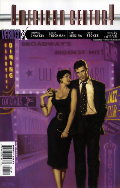Cover for American Century (DC, 2001 series) #25