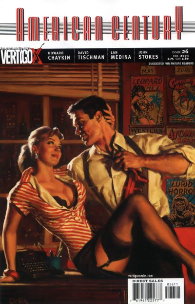 Cover for American Century (DC, 2001 series) #26