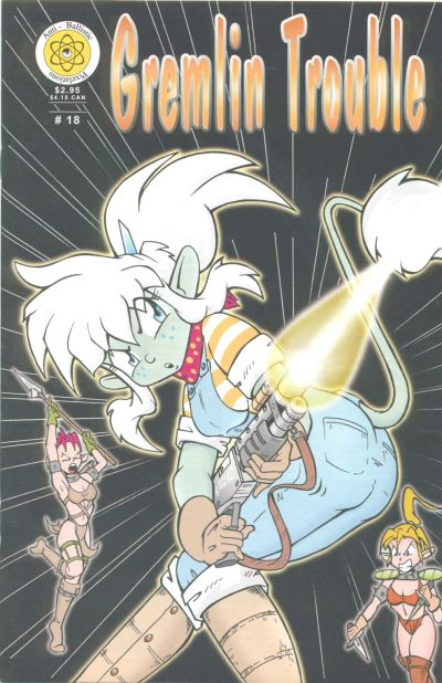 Cover for Gremlin Trouble (Anti-Ballistic Pixelations, 1995 series) #18