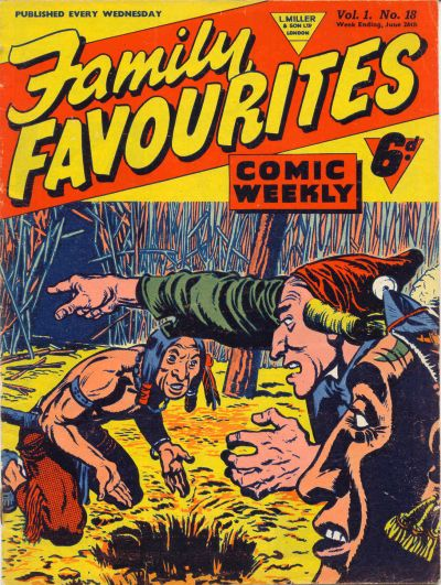Cover for Family Favourites (L. Miller & Son, 1954 series) #18