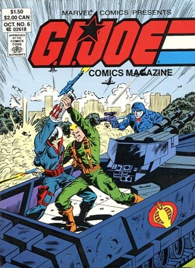 Cover for G.I. Joe Comics Magazine (Marvel, 1986 series) #6