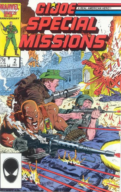 Cover for G.I. Joe Special Missions (Marvel, 1986 series) #2 [Direct Edition]