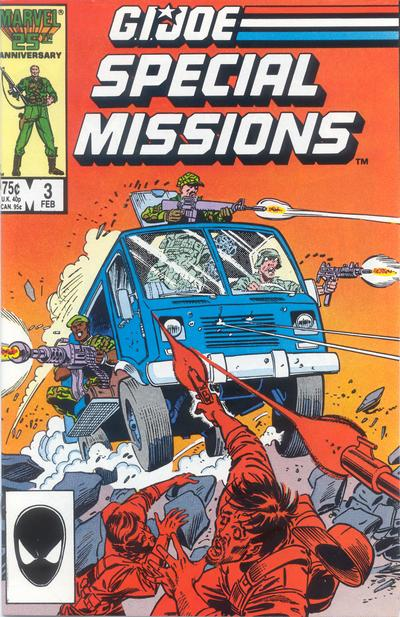 Cover for G.I. Joe Special Missions (Marvel, 1986 series) #3 [Direct Edition]