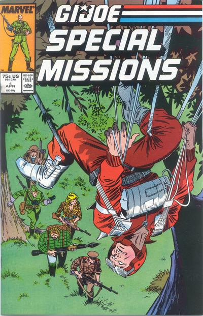Cover for G.I. Joe Special Missions (Marvel, 1986 series) #4 [Direct Edition]