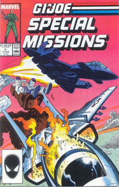 Cover for G.I. Joe Special Missions (Marvel, 1986 series) #5 [Direct Edition]