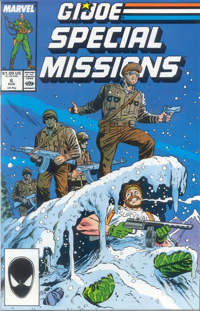 Cover for G.I. Joe Special Missions (Marvel, 1986 series) #6 [Direct Edition]