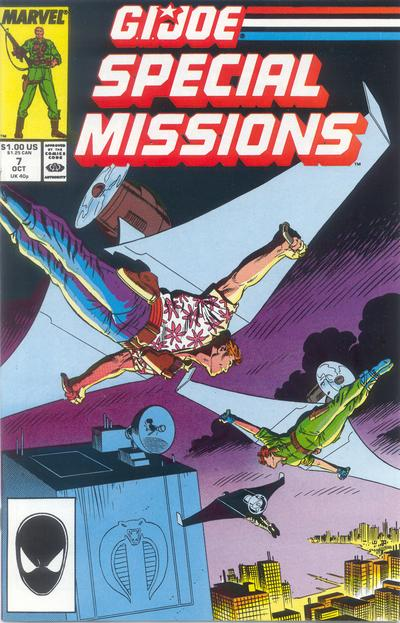 Cover for G.I. Joe Special Missions (Marvel, 1986 series) #7 [Direct Edition]