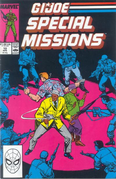 Cover for G.I. Joe Special Missions (Marvel, 1986 series) #10 [Direct Edition]