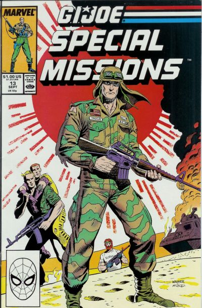 Cover for G.I. Joe Special Missions (Marvel, 1986 series) #13 [Direct Edition]