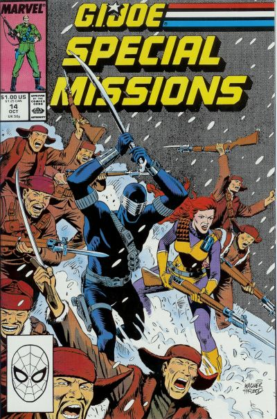Cover for G.I. Joe Special Missions (Marvel, 1986 series) #14 [Direct Edition]