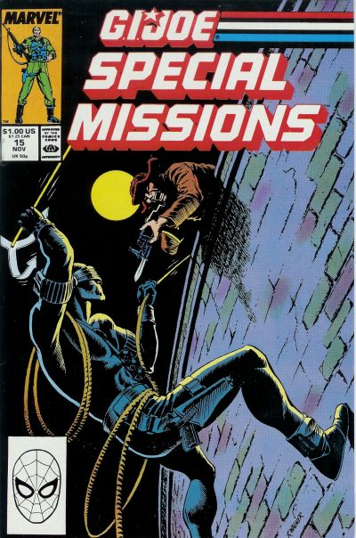 Cover for G.I. Joe Special Missions (Marvel, 1986 series) #15 [Direct Edition]