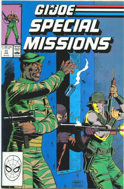 Cover for G.I. Joe Special Missions (Marvel, 1986 series) #17 [Direct Edition]