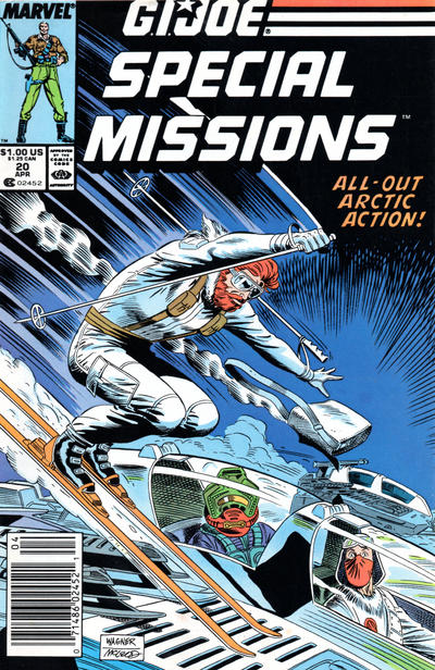 Cover for G.I. Joe Special Missions (Marvel, 1986 series) #20 [Direct Edition]