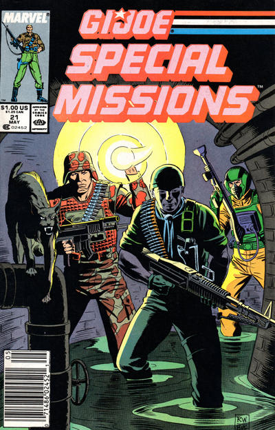 Cover for G.I. Joe Special Missions (Marvel, 1986 series) #21 [Direct Edition]