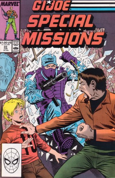 Cover for G.I. Joe Special Missions (Marvel, 1986 series) #22 [Direct Edition]