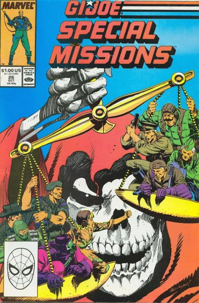 Cover for G.I. Joe Special Missions (Marvel, 1986 series) #26 [Direct Edition]