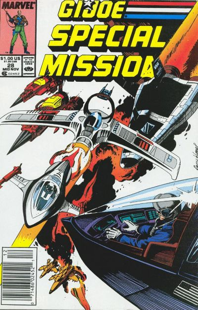 Cover for G.I. Joe Special Missions (Marvel, 1986 series) #28 [Direct Edition]