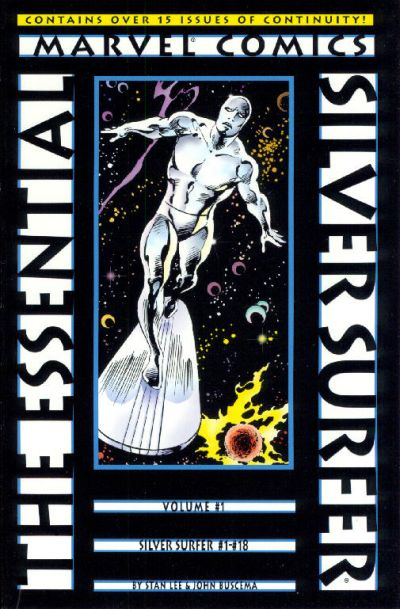 Cover for Essential Silver Surfer (Marvel, 2001 series) #1
