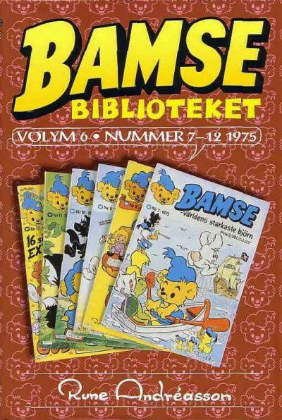 Cover for Bamsebiblioteket (Egmont, 2000 series) #6
