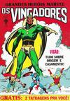 Cover for Grandes Heróis Marvel (Editora Abril, 1983 series) #10