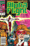 Cover Thumbnail for Alpha Flight Special (1991 series) #4 [Newsstand]