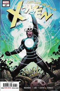 Cover Thumbnail for Astonishing X-Men (Marvel, 2017 series) #17 [Greg Land]
