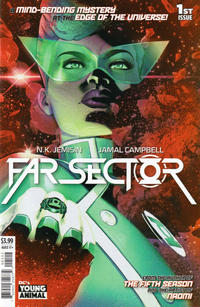 Cover Thumbnail for Far Sector (DC, 2020 series) #1 [Second Printing]