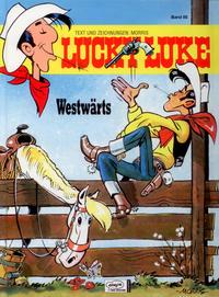 Cover Thumbnail for Lucky Luke (Egmont Ehapa, 1977 series) #85 - Westwärts