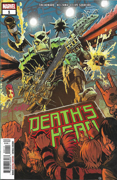 Cover for Death's Head (Marvel, 2019 series) #1 [Sharp Remastered Variant]