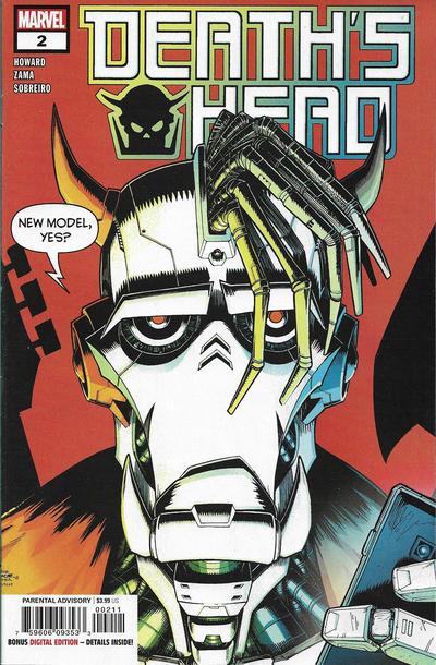 Cover for Death's Head (Marvel, 2019 series) #2 [John McCrea 'Connecting']