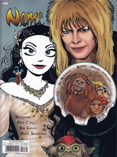 Cover for Nemi (Gyldendal Norsk Forlag, 2018 series) #177