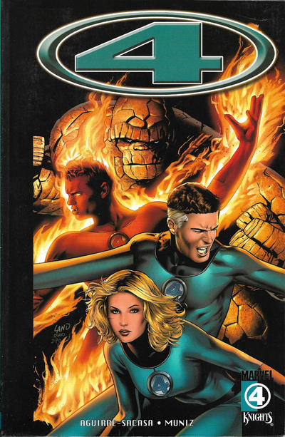 Cover for Marvel Knights 4 (Marvel, 2004 series) #3 - Divine Time