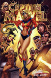 Cover for Captain Marvel (Marvel, 2019 series) #1 [J Scott Campbell.com Exclusive Cover C]