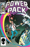 Cover for Power Pack (Marvel, 1984 series) #5 [Direct]