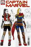 Cover for Captain Marvel (Marvel, 2019 series) #2 [Carmen Carnero Design Wraparound]
