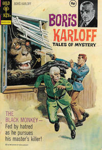Cover Thumbnail for Boris Karloff Tales of Mystery (Western, 1963 series) #46 [British]
