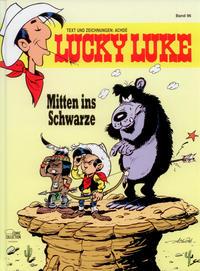 Cover Thumbnail for Lucky Luke (Egmont Ehapa, 1977 series) #96 - Mitten ins Schwarze