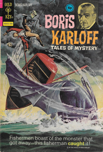 Cover for Boris Karloff Tales of Mystery (Western, 1963 series) #47 [British]