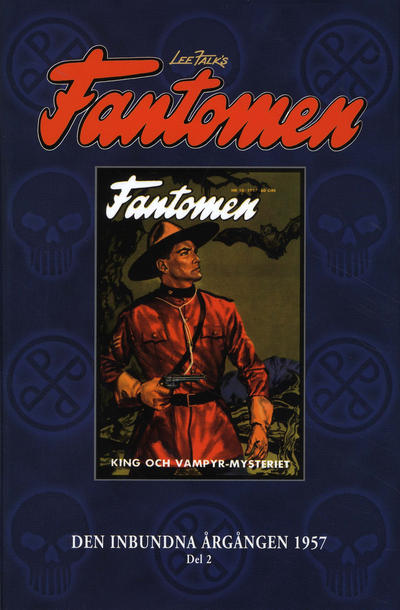 Cover for Lee Falk's Fantomen: Den inbundna årgången (Egmont, 2002 series) #2/1957