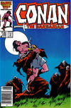 Cover for Conan the Barbarian (Marvel, 1970 series) #183 [Newsstand]