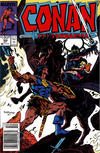 Cover for Conan the Barbarian (Marvel, 1970 series) #199 [Newsstand]