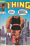 Cover for The Thing (Marvel, 1983 series) #23 [Newsstand]